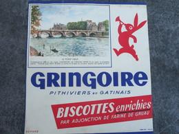 GRINGOIRE - Le Pont Neuf - Biscottes