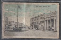 Carte Postale Etats-Unis Menasha   Main Street  Très Beau Plan - Etats-Unis