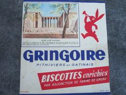 GRINGOIRE - Musée D'Art Moderne - Biscottes