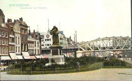 CPA - Pays-Bas - Zuid-Holland - Rotterdam - Standbeeld Van Erasmus - Rotterdam