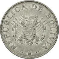 Monnaie, Bolivie, 50 Centavos, 1997, TTB, Stainless Steel, KM:204 - Bolivie