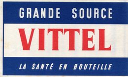 BUVARD(EAU VITTEL) - Buvards, Protège-cahiers Illustrés