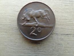 Afrique Du Sud  2  Cents  1965  Km 66.2 - South Africa