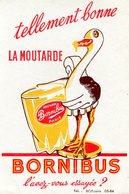 BUVARD(MOUTARDE BORNIBUS) PARIS - Moutardes