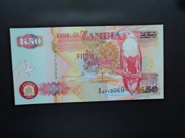 ZAMBIE : 50 KWACHA  1992   P 37a     NEUF - Zambie
