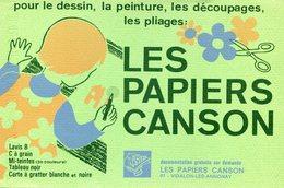 BUVARD(PAPIER CANSON) VIDALON LES ANNONAY - Buvards, Protège-cahiers Illustrés