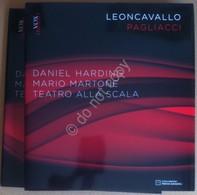 Harding - Leoncavallo - I Pagliacci - Teatro Alla Scala - Libro E Cd / Dvd - Libros, Revistas, Cómics