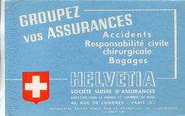 BUVARD(ASSURANCE HELVETIA) - Buvards, Protège-cahiers Illustrés