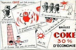 BUVARD(COKE) - Buvards, Protège-cahiers Illustrés