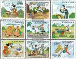 Rumänien 4243-4251 (completa Edizione) MNH 1986 Zeichentrickfilme - Nuovi