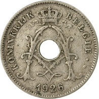 Monnaie, Belgique, 10 Centimes, 1926, TB+, Copper-nickel, KM:86 - 1909-1934: Albert I