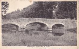 Resteigne Pont Sur La Lesse Circulée En 1947 Ed. Emile Braquet Resteigne - Tellin