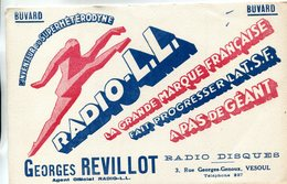 BUVARD(RADIO DISQUE) VESOUL - Buvards, Protège-cahiers Illustrés