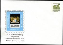 Bund PU117 D2/089 POSTHAUSSCHILD München 1983 - Post