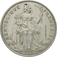 Monnaie, French Polynesia, 5 Francs, 1992, Paris, TB+, Aluminium, KM:12 - French Polynesia