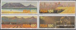 South Africa 484-487 Block Of Four (complete Issue) Unmounted Mint / Never Hinged 1975 Tourism - Ungebraucht