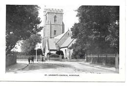 BURNHAM - ST ANDREW'S CHURCH - (STREET SCENE) - B5 - Buckinghamshire