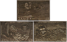 Sambia C340-E340 (complete.issue.) Unmounted Mint / Never Hinged 1985 Independence - Zambia (1965-...)