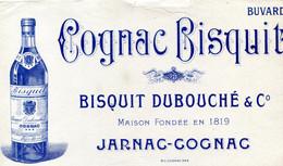BUVARD(COGNAC BISQUIT) JARNAC - Vloeipapier