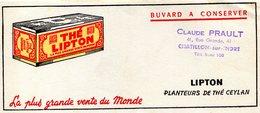 BUVARD(THE LIPTON) CEYLON - Café & Thé