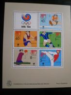 Macau 1988 Seoul Olympic Games Mnh (**) Fine Condition - Blocchi & Foglietti