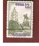CUBA -   SG  854   -  1957 SANCTI SPIRITUS CHURCH     - USED - Usati
