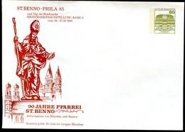 FRAUENKIRCHE STADTPFARRKIRCHE MÜNCHEN Bund PU117 D2/091 ST.BENNO 1985 - Kirchen U. Kathedralen