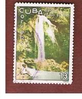 CUBA -   SG  1329   -  1966  TOURISM  : WATERFALLS, SOROA   - USED - Usati