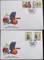 LETTLAND 1997 Mi-Nr. 459/62 FDC - Lettonie