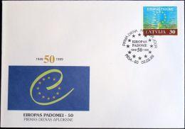 LETTLAND 1999 Mi-Nr. 500 FDC - Latvia