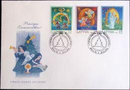 LETTLAND 2000 Mi-Nr. 535/37 FDC - Latvia