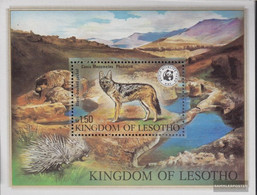 Lesotho Block12 (complete.issue.) Unmounted Mint / Never Hinged 1981 Endangered Species - Lesotho (1966-...)