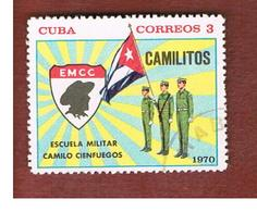 "CUBA -   SG  1816   -  1970 MILITARY SCHOOL ""C. CIENFUEGOS""   - USED - Usati"