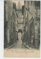MANOSQUE - Rue Et Portail De Soubeyran - Manosque