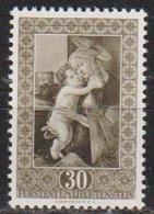 Lichtenstein 1952 MiNr.307 ** Postfr. Gemälde Aus Der Fürstlichen Gemäldegalerie ( 591 )günstige Versandkosten - Liechtenstein