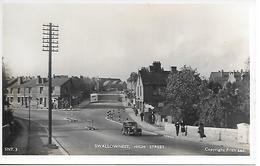 REAL PHOTO - SWALLOWNEST - HIGH STREET - B12 - England