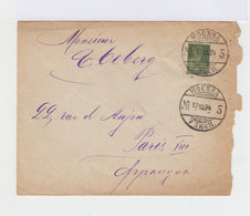 Sur Enveloppe Timbre 20 K. Vert Foncé. CAD Mockba 1924. (678) - 1923-1991 URSS