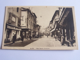 Alés - Rue Saint Vincent - Alès