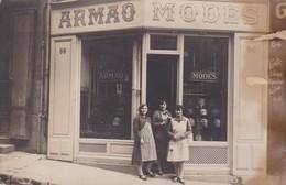 13 / MARSEILLE / RARE CARTE PHOTO COMMERCE / ARMAO MODES / 64 RUE D AUBAGNE / MERCI A TANTINE POUR SA SCIENCE - The Canebière, City Centre