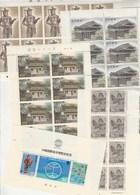 JAPON Lot De Timbres En Feuille Ou Partie De Feuille - Faciale 59760 Yen - 18 Scan - Voir Description - Japon