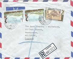 Mauritius 1985 Curepipe Landing British Royal Visit Registered Cover - Mauritius (1968-...)