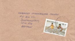 Mauritius 2002 Port Louis Copra Coconut Fruit Cover - Mauritius (1968-...)