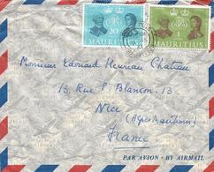 Mauritius 1961 Port Louis British Postal Service Anniversary Cover - Mauritius (1968-...)
