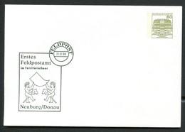 Bund PU117 D2/095 ERSTES FELDPOSTAMT Neuburg/Donau 1984 - Post