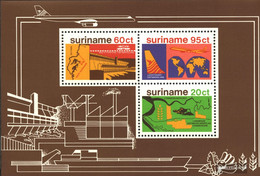 Suriname Block21 (complete Issue) Unmounted Mint / Never Hinged 1978 Development - Surinam