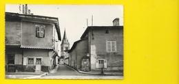 St TRIVIER Sur MOIGNANS Rare Perspective Sur L'Eglise (Combier) Ain (01) - Francia