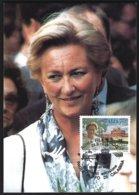 Emission Commune Belgique-Italie Yv 2237  + Cob 2706 Reine Paola Cartes Maximum - Idées Européennes