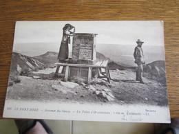 LE MONT DORE  SOMMET DU SANCY  LA TABLE D ORIENTATION - Le Mont Dore