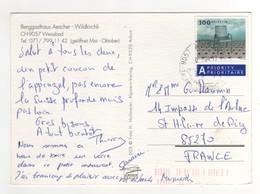 """Timbre , Stamp """" Fauteuil """" Sur Cp , Carte , Postcard Du 04/07/2017 Pour La France - Switzerland"""