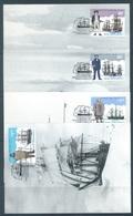 ROSS DEPENDENCY - CM/MK - 9.9.1995 - Yv 38-43  - Lot 17789 - Cartes-maximum